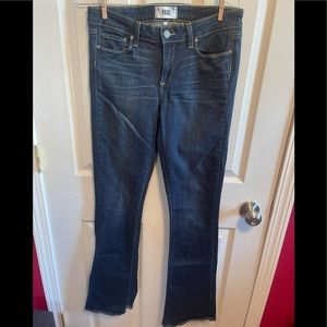 Paige Canyon baby boot jeans sz 30
